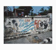 graffiti wall in Cuba Kids Tee