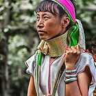 Long Neck Hill Tribe Woman by Graham Prentice