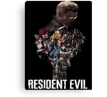 Resident Evil! Canvas Print
