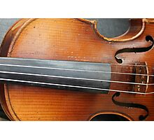 old violin Photographic Print