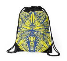 Siapo Blue and Gold Drawstring Bag