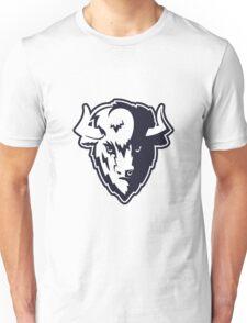 Buffalo Head Mascot Emblem. Unisex T-Shirt