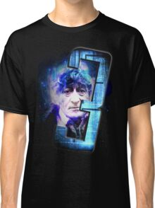Dr Who The Third Doctor Jon Pertwee T-Shirt Classic T-Shirt
