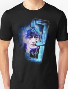 Dr Who The Third Doctor Jon Pertwee T-Shirt T-Shirt