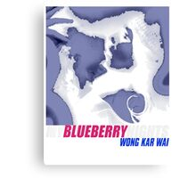 MY BLUEBERRY NIGHTS -WONG KAR WAI- Canvas Print