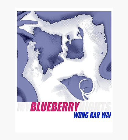 MY BLUEBERRY NIGHTS -WONG KAR WAI- Photographic Print