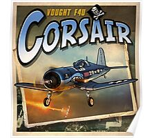 "WINGS Series ""Corsair""  Poster"