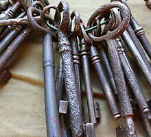 old keys by spetenfia