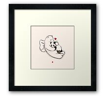 Top Up! Framed Print