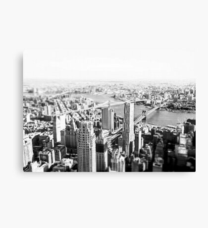 New York From a New Zenith 2016 Canvas Print