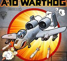 """WINGS Series """"A-10 WARTHOG"""" by Pat McNeely"""