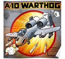 """WINGS Series """"A-10 WARTHOG"""" Poster"""