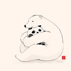 Bear Hug by Panda And Polar Bear