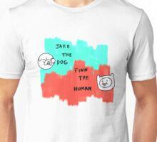 Boy and Dog Unisex T-Shirt
