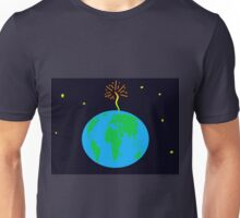 Earth in peril  Unisex T-Shirt
