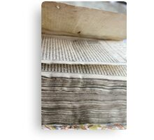 old book Metal Print