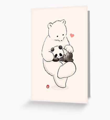 Panda Therapy Greeting Card