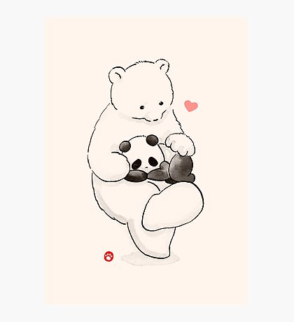 Panda Therapy Photographic Print