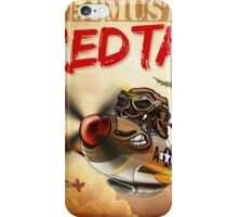 """WINGS Series """"P-51 RED TAILS"""" iPhone Case/Skin"""