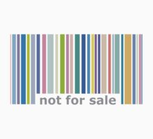 Not For Sale Barcode - Colorful Baby Tee