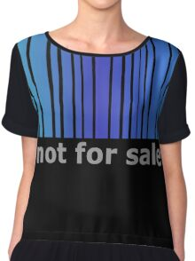 Not For Sale Barcode - Blues Chiffon Top