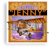 "WINGS Series ""JENNY"" Canvas Print"