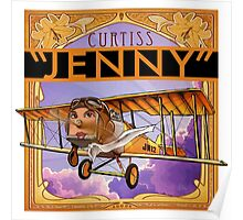 """WINGS Series """"JENNY"""" Poster"""