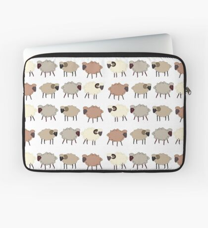 Seamless pattern  with sheep Laptop Sleeve