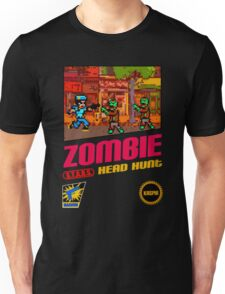 Zombie Head Hunt Unisex T-Shirt