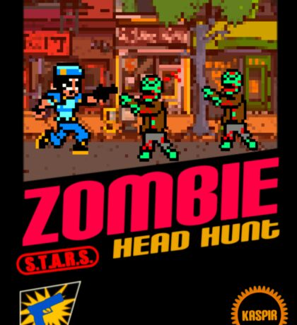 Zombie Head Hunt Sticker