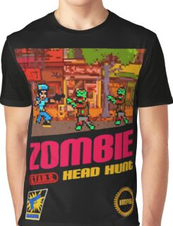 Zombie Head Hunt Graphic T-Shirt