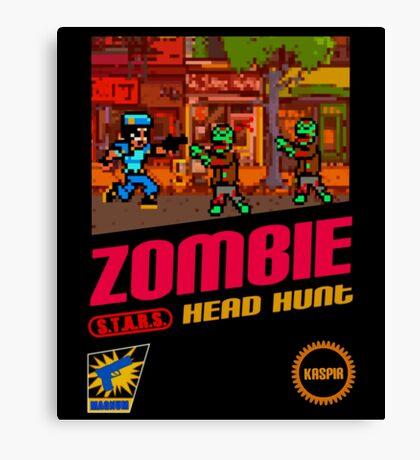 Zombie Head Hunt Canvas Print