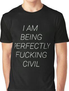 Civil Graphic T-Shirt