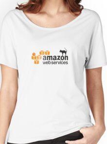 AWS logo (Halloween version) Women's Relaxed Fit T-Shirt