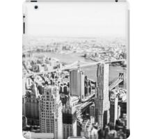 New York From a New Zenith 2016 iPad Case/Skin