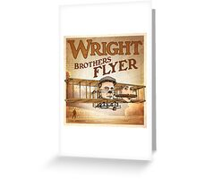 "WINGS Series ""WRIGHT BROS"" Greeting Card"