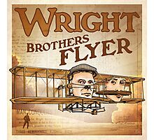"WINGS Series ""WRIGHT BROS"" Photographic Print"