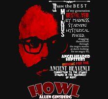 Allen Ginsberg Howl - Beat Poem Author T-shirt T-Shirt