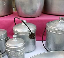 old pots and pans in the kitchen by spetenfia