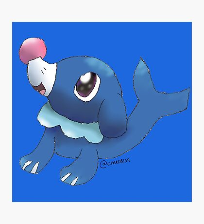 Popplio Photographic Print