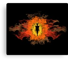 The Dark Lord of Mordor Canvas Print