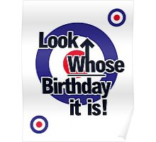 Who Birthday Card (no age) Poster