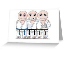 Survive Martial Art Greeting Card