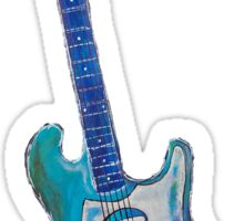 The Art of Music, electric guitar Sticker