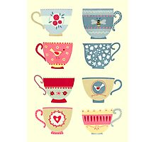 Tea Cups Photographic Print