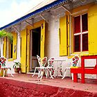 Dominican Cafe after a tropical downpour... by globeboater