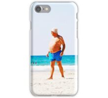 Beach Man Streetwear iPhone Case/Skin