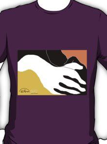 2 X Hands -(290814)- Digital artwork: MS Paint/Mouse drawn T-Shirt