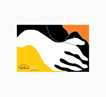 2 X Hands -(290814)- Digital artwork: MS Paint/Mouse drawn Unisex T-Shirt