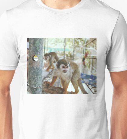 A Couple of Squirrel Monkeys Unisex T-Shirt
